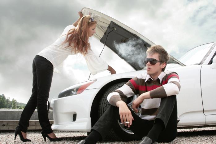 Что возбуждает девушек в машине